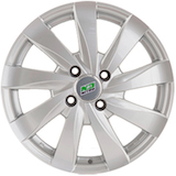 Nitro Y465 6x15 4*100 ET48 d54,1 серебро    Монтажный комплекс 4 дисков-500 р.