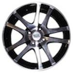 Nitro Y450 5,5x14 4*98 ET35 d58,6 черный с полированной лицевой поверхностью  Монтажный комплекс 4 дисков-500 р.