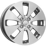 КиК КС582 (KIA RIO) 6x15 4*100 ET48 D54,1 блэк платимум   Монтажный комплекс 4х колес-500 р.
