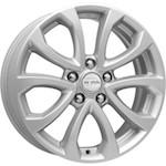 КиК КС623 (JUKE) 7x17 5*114,3 ET47 D66,1 серебро  Монтажный комплекс 4х колес-700 р.