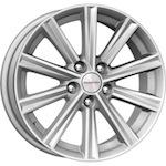 КиК КС624 (Camry V5) 7x17 5*114,3 ET45 D60,1 серебро  Монтажный комплекс 4х колес-700 р.
