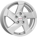 КиК КС632 (Duster) 6,5x16 5*114,3 ET50 D66,1 серебро   Монтажный комплекс 4х колес-500 р.