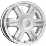 КиК КС670 (LARGUS) 6x15 4*100 ET50 D60,1 серебро