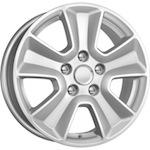 КиК КС672 (Duster FL) 6,5x16 5*114,3 ET50 D66,1 серебро   Монтажный комплекс 4х колес-500 р.