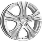 КиК КС673 (AUDI A4) 7,5x17 5*112 ET45 D66,5 серебро
