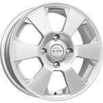КиК КС718 (LOGAN 2) 6x15 4*100 ET40 D60,1 серебро   Монтажный комплекс 4х колес-500 р.